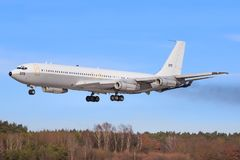 Ισραήλ - Πολεμική Αεροπορία Boeing 707-3L6C Στοκ Φωτογραφίες