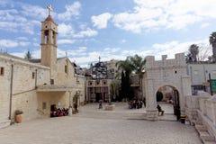 Ισραήλ nazareth - 17 Φεβρουαρίου 2017 Εκκλησία Greeck ortohodox Annunciation Στοκ φωτογραφίες με δικαίωμα ελεύθερης χρήσης