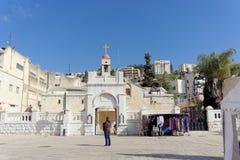 Ισραήλ nazareth - 17 Φεβρουαρίου 2017 Εκκλησία Greeck ortohodox Annunciation Στοκ Εικόνα