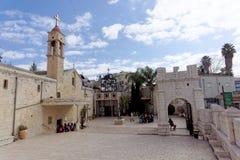 Ισραήλ nazareth - 17 Φεβρουαρίου 2017 Εκκλησία Greeck ortohodox Annunciation Στοκ εικόνες με δικαίωμα ελεύθερης χρήσης