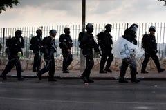 Ισραηλινή αστυνομία ταραχής Στοκ φωτογραφία με δικαίωμα ελεύθερης χρήσης