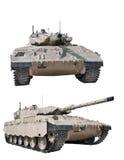 Ισραηλινή μάχη tank2 στοκ εικόνες