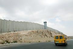 ισραηλινός τοίχος χωρισμ στοκ φωτογραφία με δικαίωμα ελεύθερης χρήσης