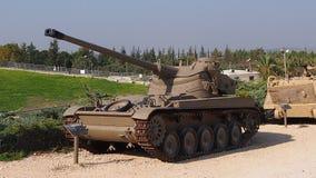 Ισραηλινά στρατεύματα Yad LE-Shirion δεξαμενών μουσείων στοκ εικόνα