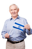Ισραηλινό ανώτερο άτομο Στοκ Φωτογραφία