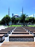 Ιστανμπούλ, Τουρκία Πλατεία Ahmet Camii σουλτάνων στοκ εικόνες με δικαίωμα ελεύθερης χρήσης