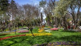 Ιστανμπούλ, Τουρκία - 6 Απριλίου 2013: Άποψη από Hidiv Kasri (το Khedive παλάτι) Στοκ Φωτογραφία