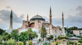 Ιστανμπούλ, Τουρκία - 4 Μαρτίου 2013: Άποψη Hagia Sophia Ayasofya, ιστορικό κέντρο του καταλόγου παγκόσμιων κληρονομιών της ΟΥΝΕΣ Στοκ Φωτογραφία