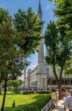 Ιστανμπούλ, Τουρκία μπλε μουσουλμανικό τέμενος Στοκ Εικόνες