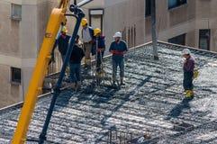 Ιστανμπούλ, Τουρκία - 11 Νοεμβρίου 2016: Εργάτες οικοδομών στο α Στοκ Φωτογραφία