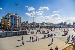 Ιστανμπούλ, Τουρκία τετραγωνικό taksim Στοκ φωτογραφία με δικαίωμα ελεύθερης χρήσης