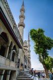 Ιστανμπούλ, Τουρκία Το μπλε μουσουλμανικό τέμενος, 1616 Στοκ εικόνα με δικαίωμα ελεύθερης χρήσης