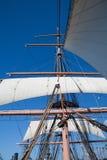 Ψηλά ξάρτια σκαφών Στοκ Εικόνες