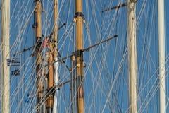 ιστοί που πλέουν τα σκάφη στοκ φωτογραφίες
