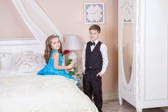 Ιστορία αγάπης παιδιών Στοκ φωτογραφία με δικαίωμα ελεύθερης χρήσης