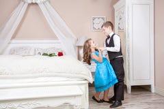 Ιστορία αγάπης παιδιών Στοκ Φωτογραφία