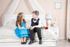 Ιστορία αγάπης παιδιών Στοκ Εικόνα