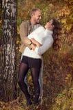 Ιστορία αγάπης φθινοπώρου Στοκ Εικόνα