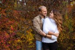 Ιστορία αγάπης φθινοπώρου Στοκ εικόνες με δικαίωμα ελεύθερης χρήσης