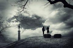 Ιστορία αγάπης Στοκ Εικόνες