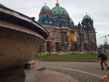 Ιστορία αρχιτεκτονικής του Βερολίνου Γερμανία στοκ φωτογραφία