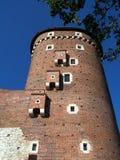 ιστορία Κρακοβία μεσαιωνική αναμνηστική Πολωνία κάστρων wawel στοκ εικόνες