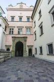 ιστορία Κρακοβία μεσαιωνική αναμνηστική Πολωνία κάστρων wawel στοκ φωτογραφία με δικαίωμα ελεύθερης χρήσης