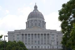 Ιστορία που χτίζει το κράτος Capitol του Μισσούρι στο Jefferson MO στοκ φωτογραφία