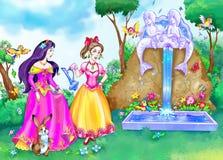 ιστορία πριγκηπισσών νεράι Απεικόνιση αποθεμάτων