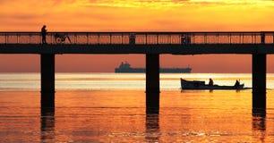Ιστορία ψαράδων Στοκ φωτογραφίες με δικαίωμα ελεύθερης χρήσης