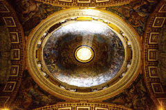 Ιστορίες σχετικά με το ανώτατο όριο στο Βατικανό Στοκ Εικόνα