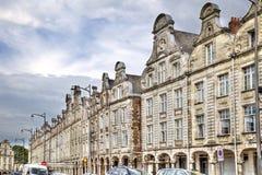 Ιστορικά αετώματα στη μεγάλη θέση σε Arras, Γαλλία Στοκ Εικόνες