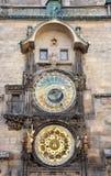 Ιστορικά αστρονομικό ρολόι, Πράγα, Δημοκρατία της Τσεχίας, Ευρώπη Στοκ Φωτογραφίες