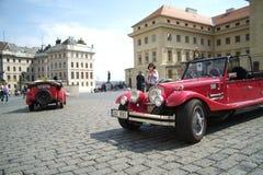 Ιστορικά αυτοκίνητα Στοκ Εικόνες