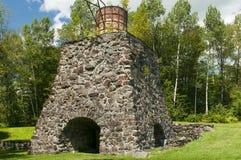 Ιστορικά εργοστάσια σιδήρου Katahdin Στοκ εικόνα με δικαίωμα ελεύθερης χρήσης