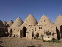 Ιστορικά και αρχαία σπίτια κυψελών σε Åžanlıurfa, Τουρκία Στοκ εικόνα με δικαίωμα ελεύθερης χρήσης