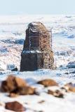 Ιστορικά καταστροφές Ani και χειμερινά τοπία, Kars, Τουρκία Στοκ φωτογραφία με δικαίωμα ελεύθερης χρήσης