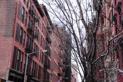 Ιστορικά κτήρια αρχιτεκτονικής της Νέας Υόρκης Στοκ Φωτογραφίες