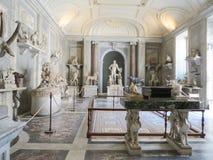 Ιστορικά κτήρια και γλυπτό της Ιταλίας Στοκ Εικόνες