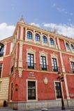 Ιστορικά κτήρια και μνημεία της Σεβίλης, Ισπανία ισπανικά plaza SAN de Francisco Στοκ φωτογραφία με δικαίωμα ελεύθερης χρήσης