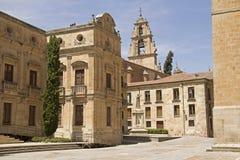 Ιστορικά κτήρια σε Σαλαμάνκα, Ισπανία Στοκ φωτογραφία με δικαίωμα ελεύθερης χρήσης