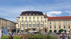 Ιστορικά κτήρια στην Κρακοβία, Πολωνία Στοκ Εικόνες