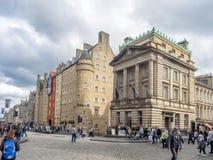 Ιστορικά κτήρια στο βασιλικό μίλι Στοκ Εικόνα
