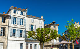 Ιστορικά κτήρια στο Angouleme, Γαλλία Στοκ Εικόνα