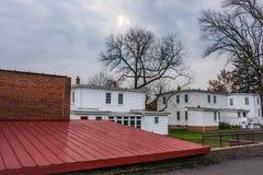 Ιστορικά κτήρια Smithville στοκ φωτογραφία