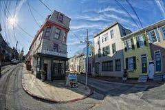 Ιστορικά σπίτια της Μέρυλαντ Annapolis Στοκ Εικόνα