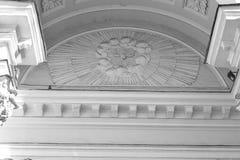 Ιστορικές λεπτομέρειες αρχιτεκτονικής της εκκλησίας Στοκ φωτογραφία με δικαίωμα ελεύθερης χρήσης