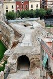 Ιστορικές καταστροφές Tarragona Στοκ εικόνα με δικαίωμα ελεύθερης χρήσης