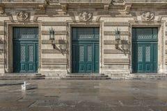 Ιστορικές πόρτες Στοκ φωτογραφία με δικαίωμα ελεύθερης χρήσης