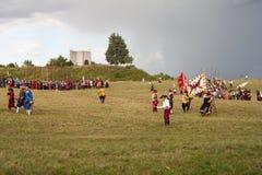 Ιστορική αναπαράσταση α δ 1615 Στοκ φωτογραφία με δικαίωμα ελεύθερης χρήσης